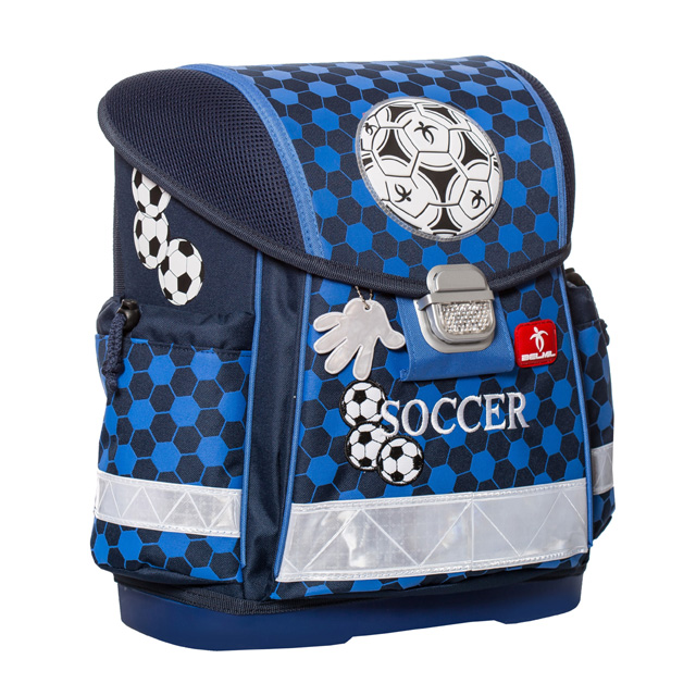 371a5361c1 anatomická školská taška Soccer pre prvákov - Shop Detom