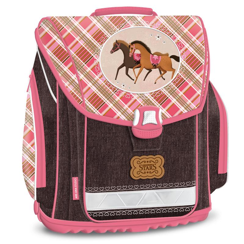 efaf415314 Anatomická školská taška Charming Stars pre dievčatá