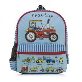 detský batoh pracovné stroje